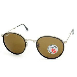 cc8dc0646a Ray-Ban · Authentic Ray-Ban Round Folding Sunglasses